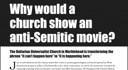 Right-wing foundation wages campaign to shut down anti-occupation movie because it 'sniffs of Nazism'