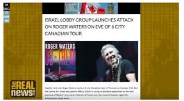 Israel group wages attack on Roger Waters for his pro-Palestinian activism and participation in anti-occupation film