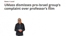 UMass dismisses right-wing media group's attempt to censure professor and filmmaker Sut Jhally
